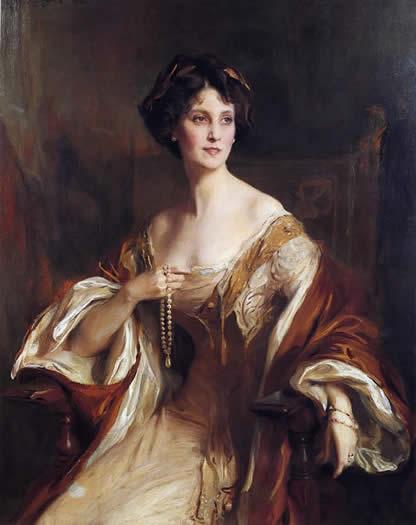 Winifred, Duchess of Portland (by de Laszlo)